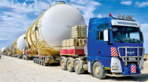 Автопоезда для перевозки тяжеловесных грузов