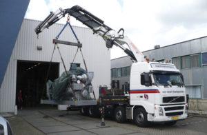 Перемещение станков и оборудования