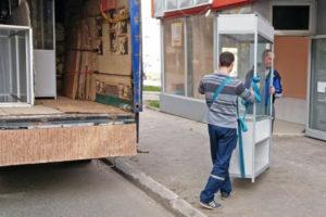 Перевозка торгового оборудования