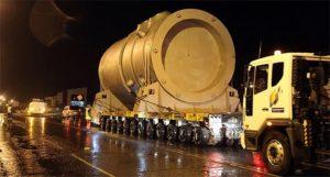 Транспортировка реактора