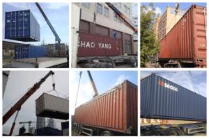 Перевозка негабаритных контейнеров