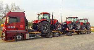 Перевозка тракторов МТЗ