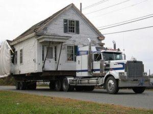 Перевозка домов