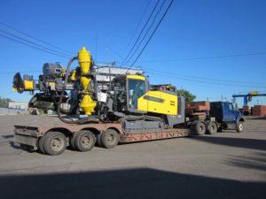 Перевозка горнодобывающего оборудования
