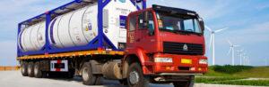 Перевозка грузов танк-контейнерами