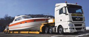 Перевозка и погрузка катеров, лодок и яхт