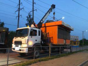 Перевозка негабаритных грузов краном-манипулятором