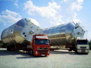 Перевозка сверхтяжелых негабаритных грузов