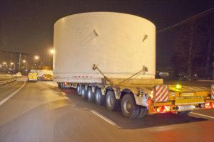 Перевозка тоннелепроходческих комплексов
