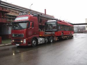 Перевозка троллейбусов