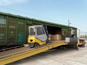 Погрузка, разгрузка и перевозка грузов полувагонами