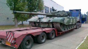 Танковый трал для перевозки