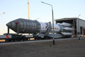 Транспортировка ракеты