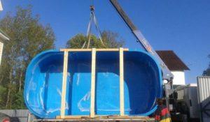 Перевозка бассейнов